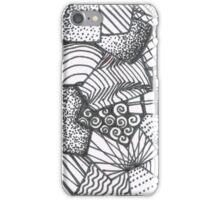 Contrast Design iPhone Case/Skin