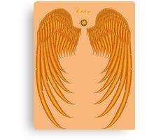 Citrine Wings Canvas Print