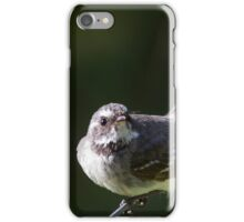 Fierce Fantail iPhone Case/Skin