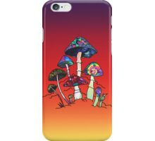 Garden of Shroomz iPhone Case/Skin