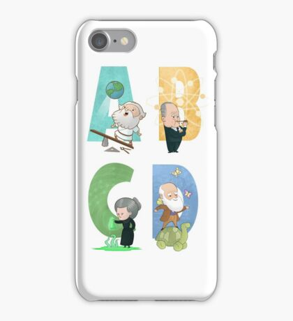 Science ABC iPhone Case/Skin