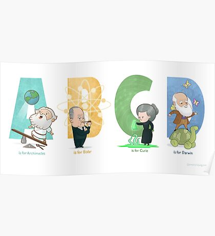 Science ABC Poster