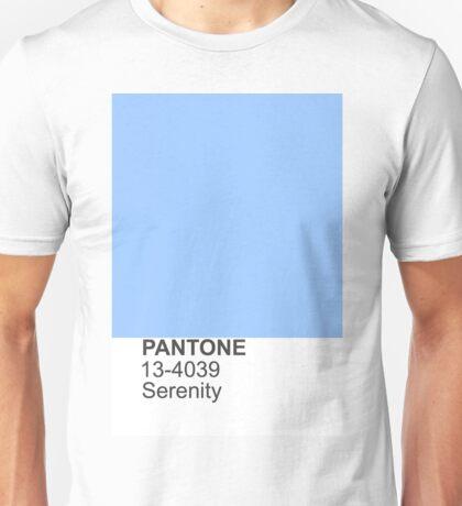PANTONE serenity Unisex T-Shirt