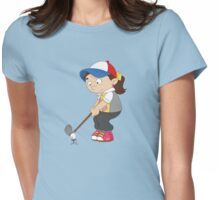 Non Olympic Sports: Golf Womens Fitted T-Shirt