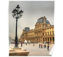 The Lamppost  & The Louvre Poster
