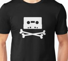 Pirates of the Cassette Player - WHITE Unisex T-Shirt