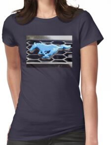 My Blue Pony Womens Fitted T-Shirt