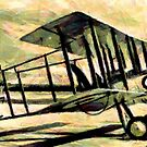 """Vickers F.B.5 Gunbus - the """"Destroyer"""" 1913 by Dennis Melling"""
