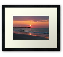 sunrising  Framed Print