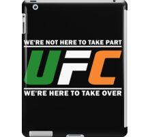 UFC Ireland, McGregor Quote design clothing and accessories iPad Case/Skin