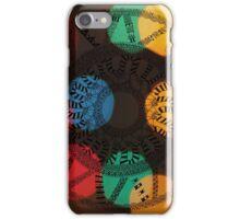 Circle Patterns v.3 iPhone Case/Skin