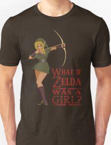 What if Zelda was a girl? (it's a joke) Unisex T-Shirt