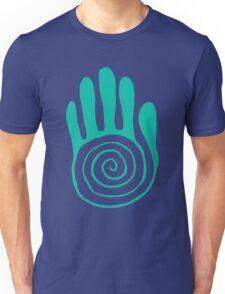 Native American Hand Blue Unisex T-Shirt