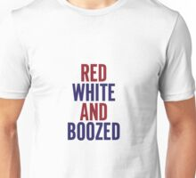 Red White & Boozed Unisex T-Shirt