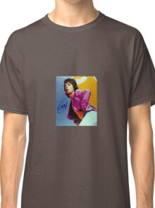 Mick Jagger Classic Autographed Photo Classic T-Shirt