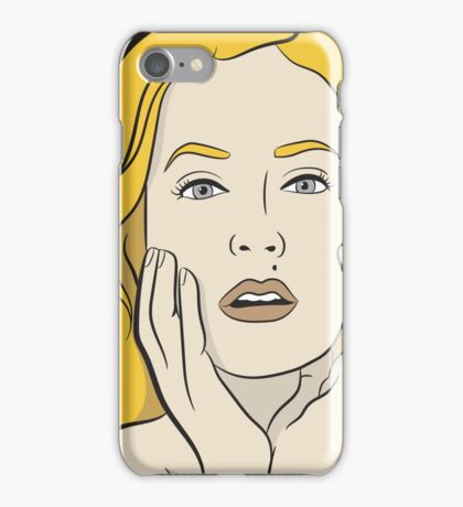 Gillian Anderson iPhone Case/Skin