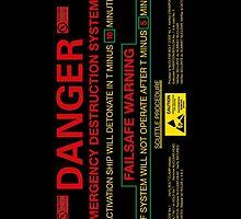 EMERGENCY DESTRUCTION SYSTEM - iPhone by bluedog725