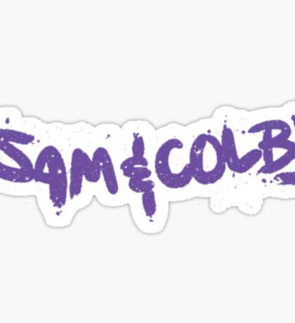Sam & Colby Sticker