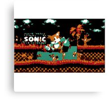 Tails Sonic the Hedgehog Canvas Print