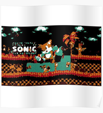 Tails Sonic the Hedgehog Poster
