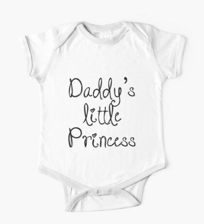 Daddy's little Princess One Piece - Short Sleeve