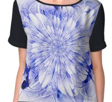 Abstract fractal flower  - computer-generated image Chiffon Top
