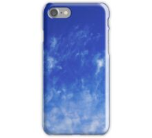 Abstract With Clouds Part 3 - Color Version iPhone Case/Skin