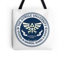 Hyrule University - Swords, Bombs & Bows Tote Bag