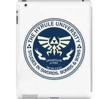 Hyrule University - Swords, Bombs & Bows iPad Case/Skin