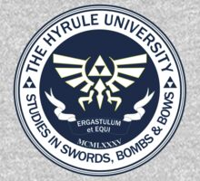 Hyrule University - Swords, Bombs & Bows by Chronotaku