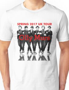 OLLY MURS SPRING TOUR 2017 UK Unisex T-Shirt