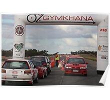 Oz Gymkhana Start/Finish Poster