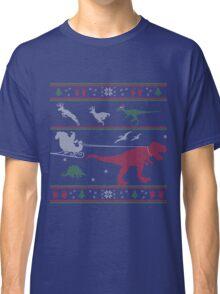 Dinosaur Xmas Sweater Classic T-Shirt