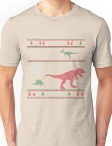 Dinosaur Xmas Sweater Unisex T-Shirt