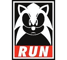Sonic Run Photographic Print