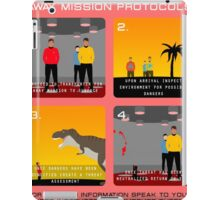 Star Trek - Operations Red Shirt Instructions iPad Case/Skin