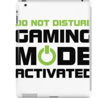 Gaming Mode Activated iPad Case/Skin