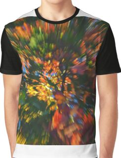 abstract art autumn colors Graphic T-Shirt