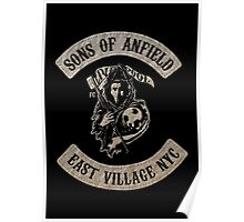 Sons of Anfield - East Village NYC Poster