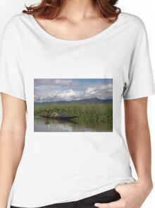 Life on Inle Lake Women's Relaxed Fit T-Shirt