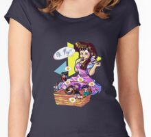 Chibi Girl Women's Fitted Scoop T-Shirt
