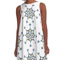 Diamond butterflies A-Line Dress