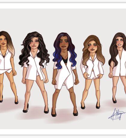 Fifth Harmony - Boss Sticker
