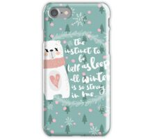 Lazy Quote iPhone Case/Skin
