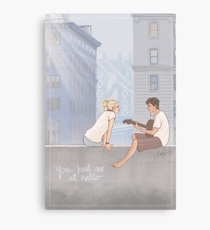 You Had Me At Hello Canvas Print