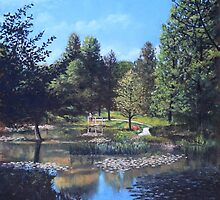 Southampton Hillier Gardens late summer by martyee