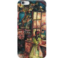 Apothecary's shop iPhone Case/Skin