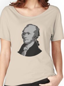 Alexander Hamilton Graphic Women's Relaxed Fit T-Shirt