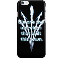 Warriors blue team iPhone Case/Skin