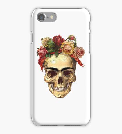 Frida Kahlo Skull iPhone Case/Skin